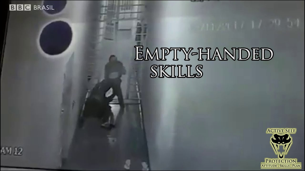 Unarmed Guard Needs His Empty-Handed Skills | Active Self Protection