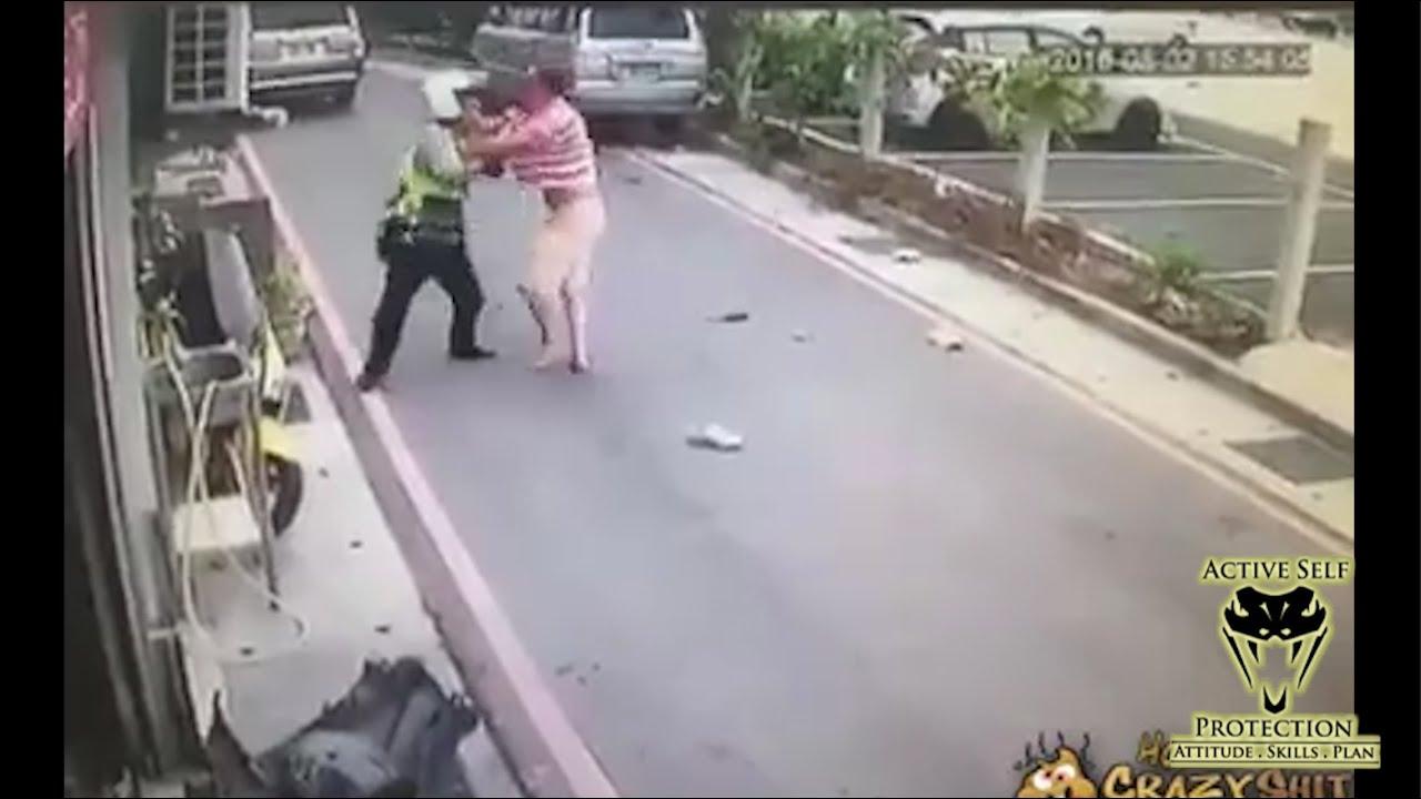 Attack on Officer Caught on Camera