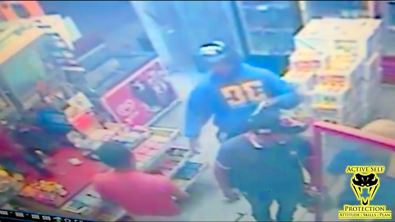 Perfect Counter Ambush Ends Armed Robbery | Active Self Protection