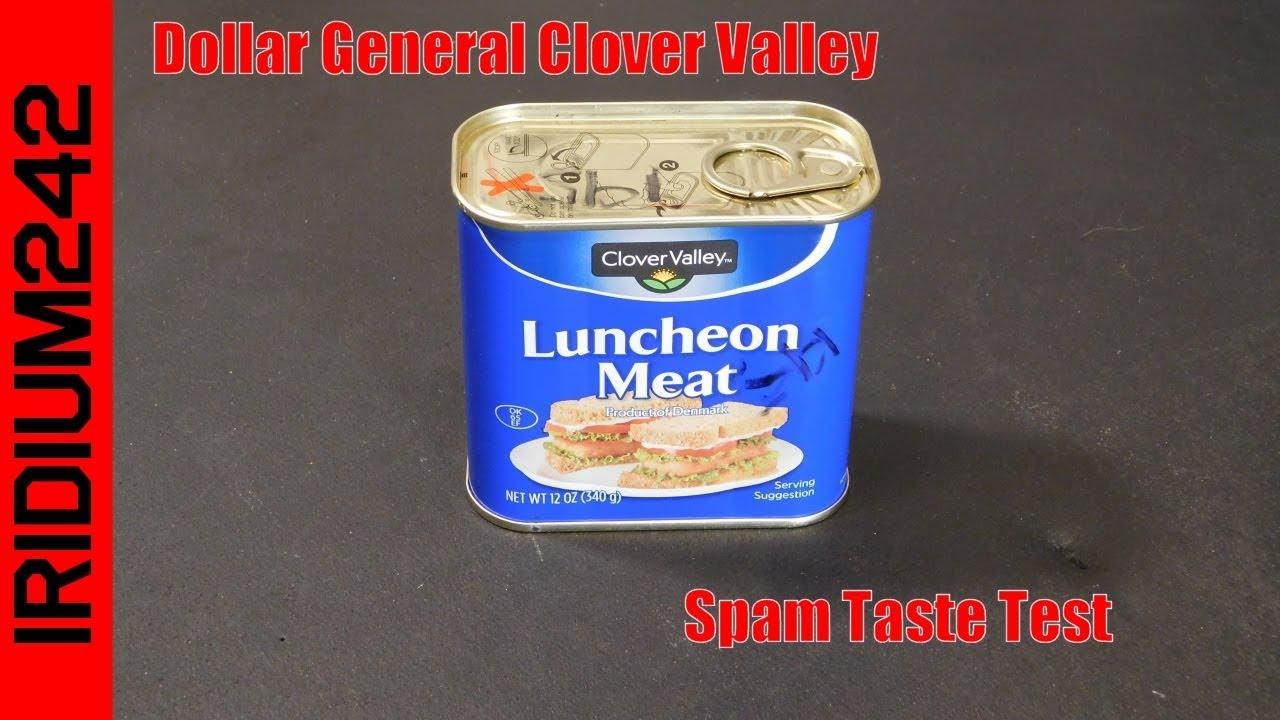 Dollar General Clover Valley Spam Taste Test!