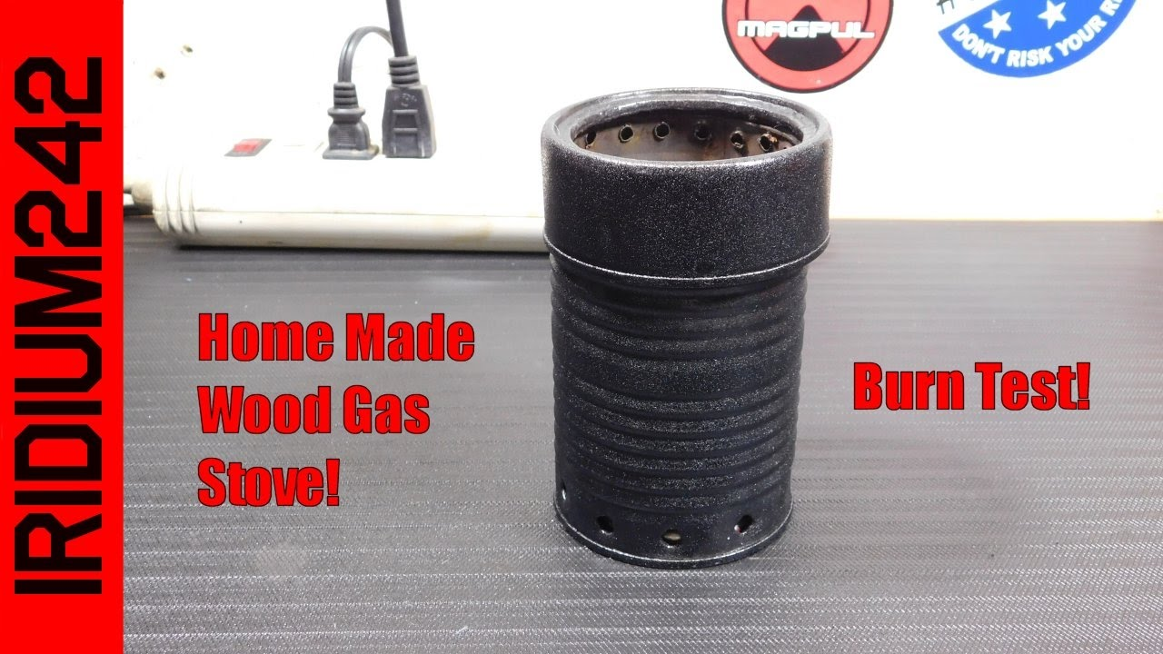 Home Made Wood Gas Stove