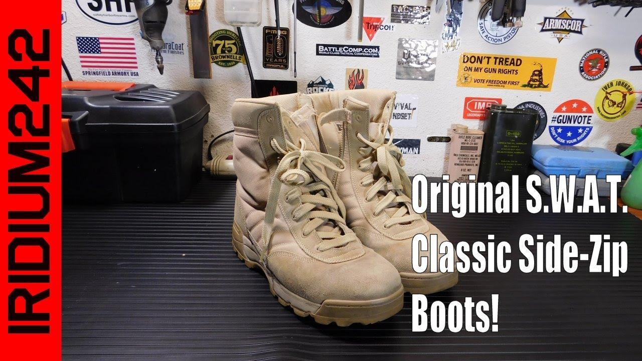 Original S W A T  Classic' Side Zip Boots