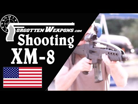 Shooting the Full Auto XM-8 Carbine
