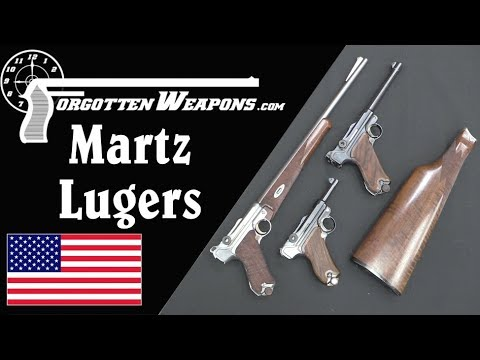 John Martz Custom Luger Pistols - Babies, Carbines, and .45 ACP Conversions