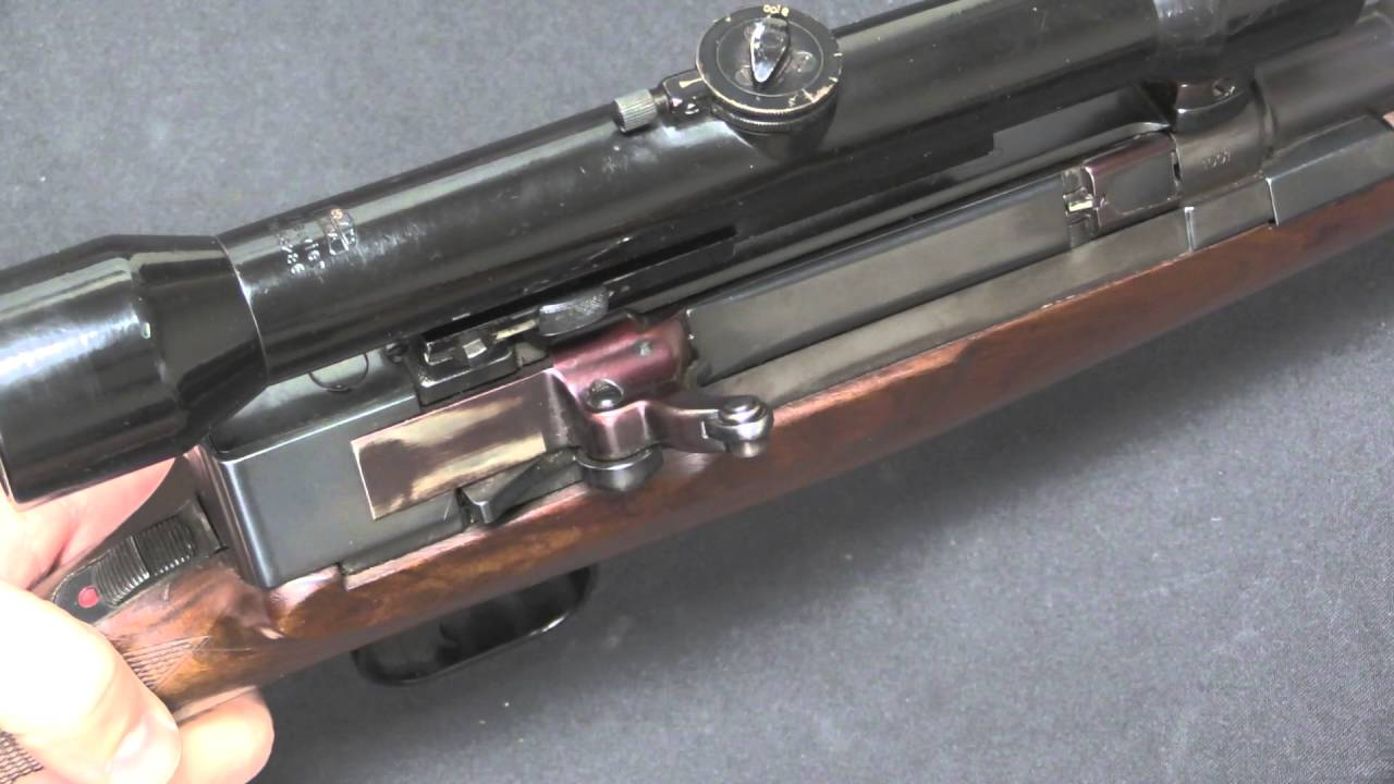 Walther - Heinemann Toggle Lock Sporting Rifle