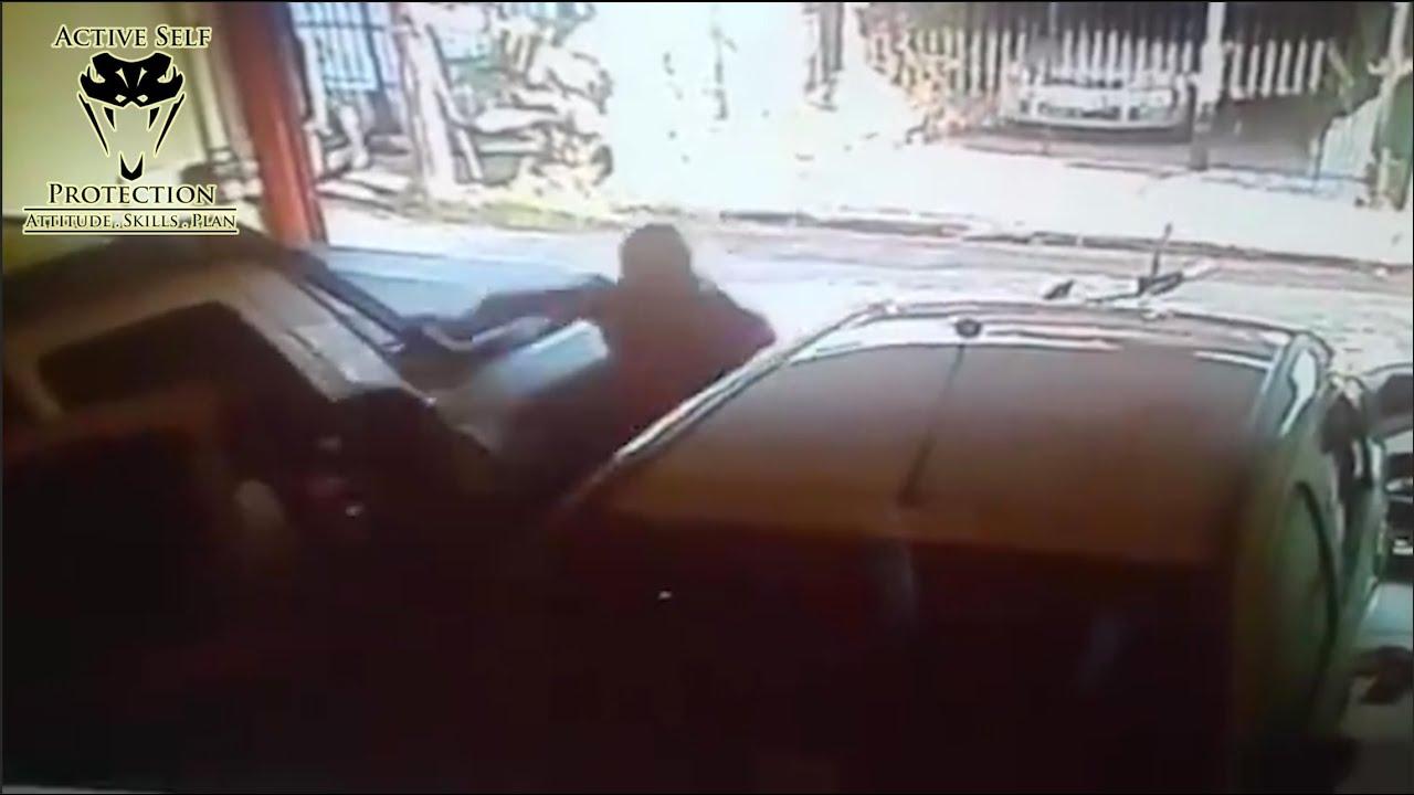 Armed Citizen Defeats Carjacking Attempt