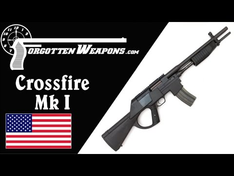 Crossfire MkI: A Creature from the AWB Lagoon