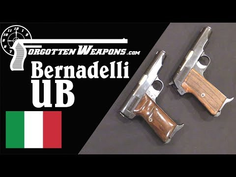Bernardelli UB: Hammer and Striker Fired 9mm Blowback