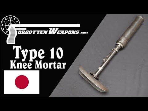 Japanese Type 10 Light Grenade Projector (aka Knee Mortar)
