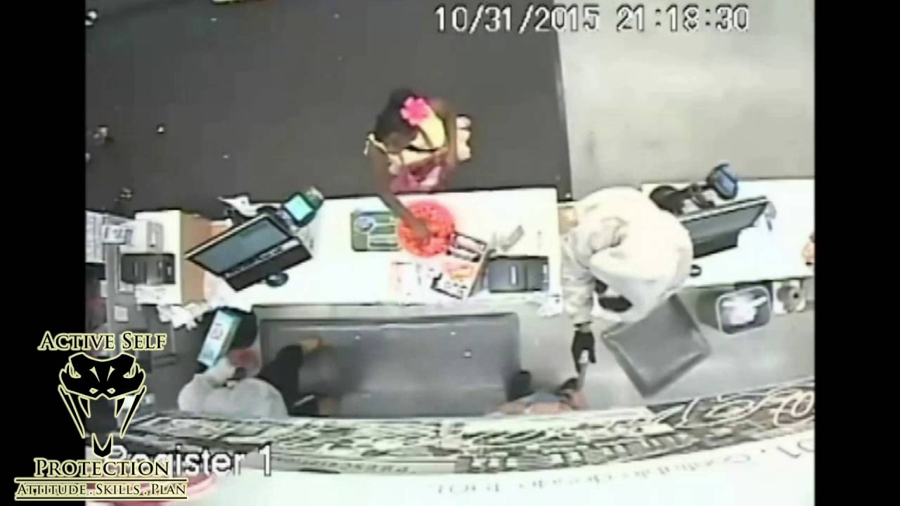Armed Citizen Chases Armed Robbers Away