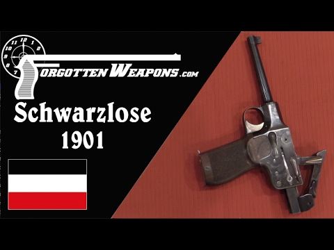 Schwarzlose 1901 Toggle-Delayed Prototype
