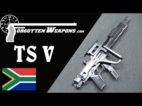 Tommy Steele's TS V: Integrally Suppressed 9mm Carbine
