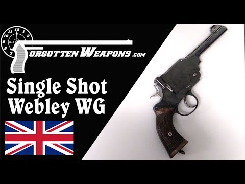 Webley WG Single Shot Not-A-Revolver