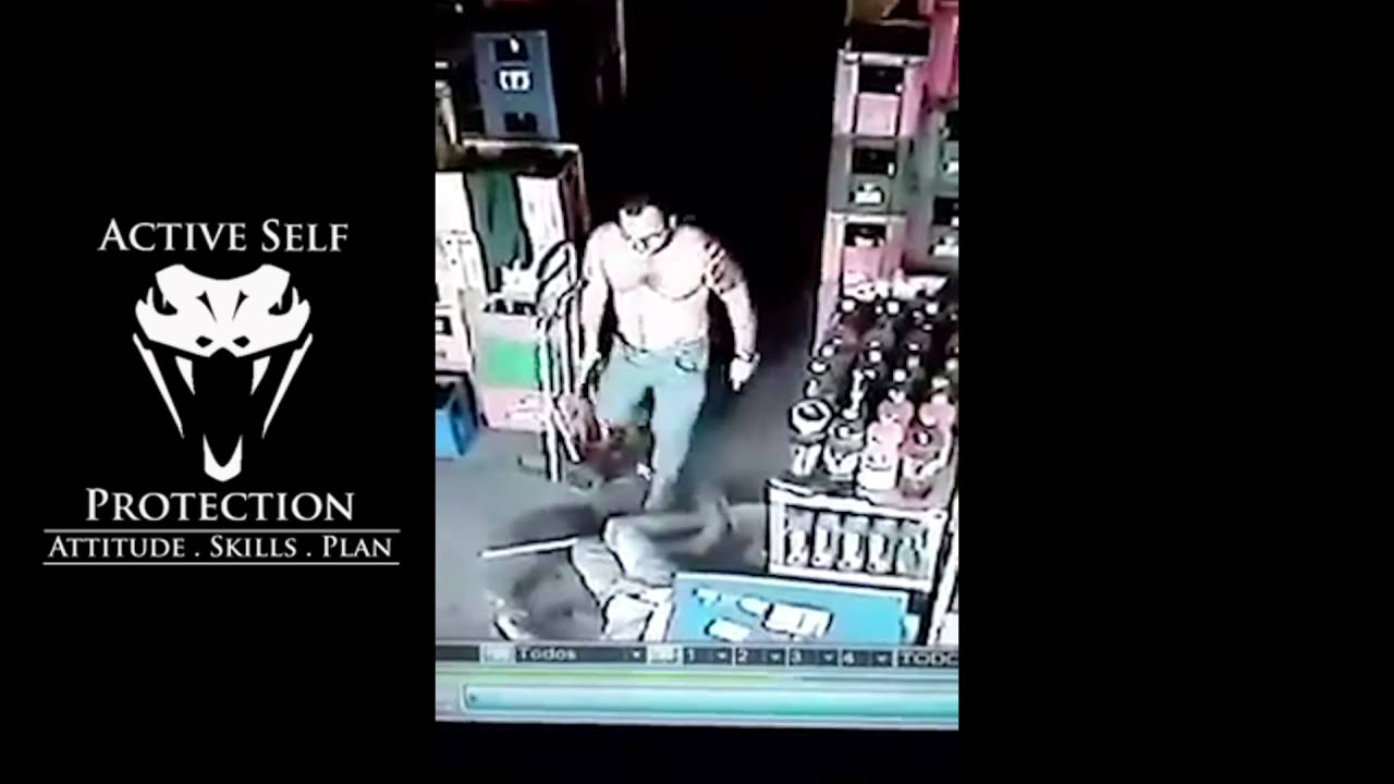 Armed Robber No Match for Armed Store Owner