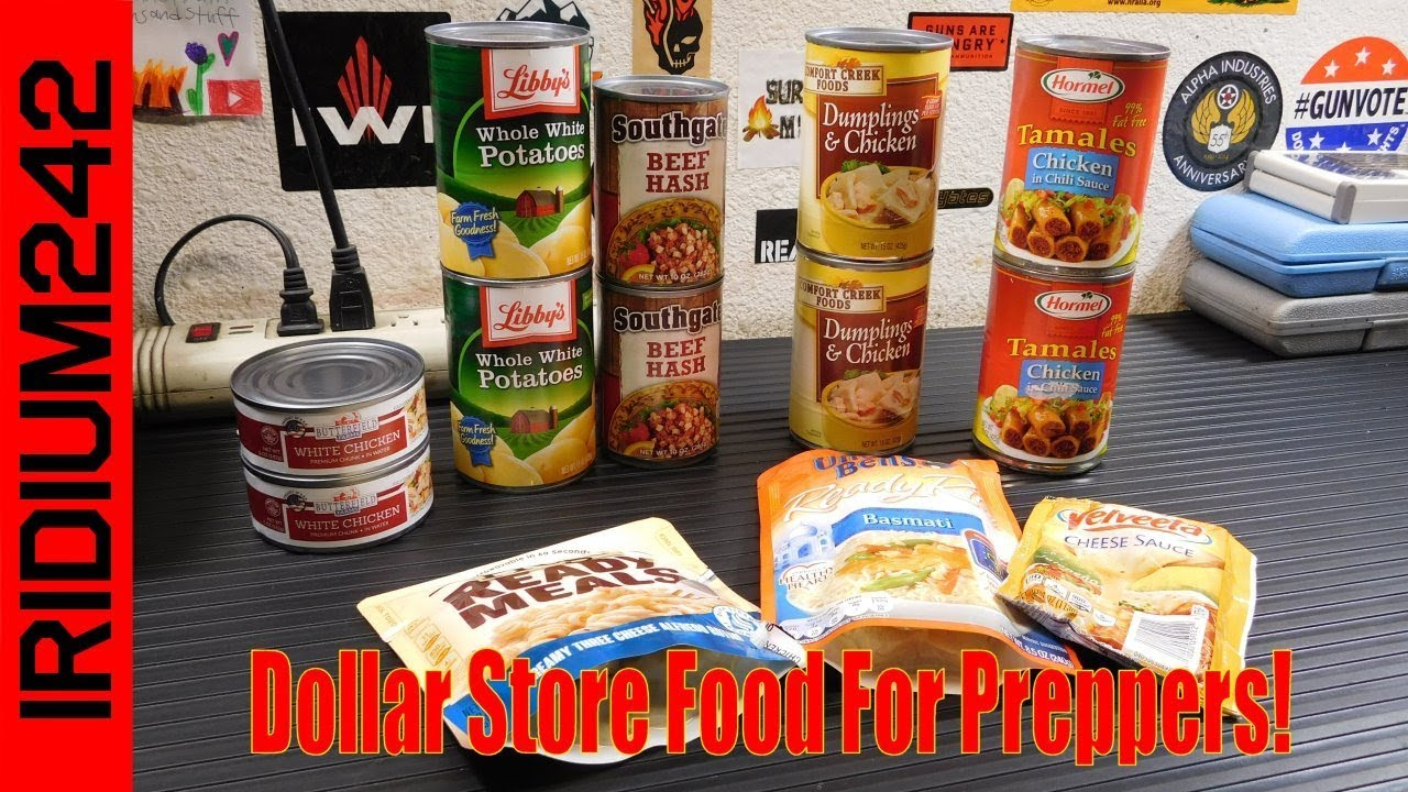 Dollar Store Food For Preppers