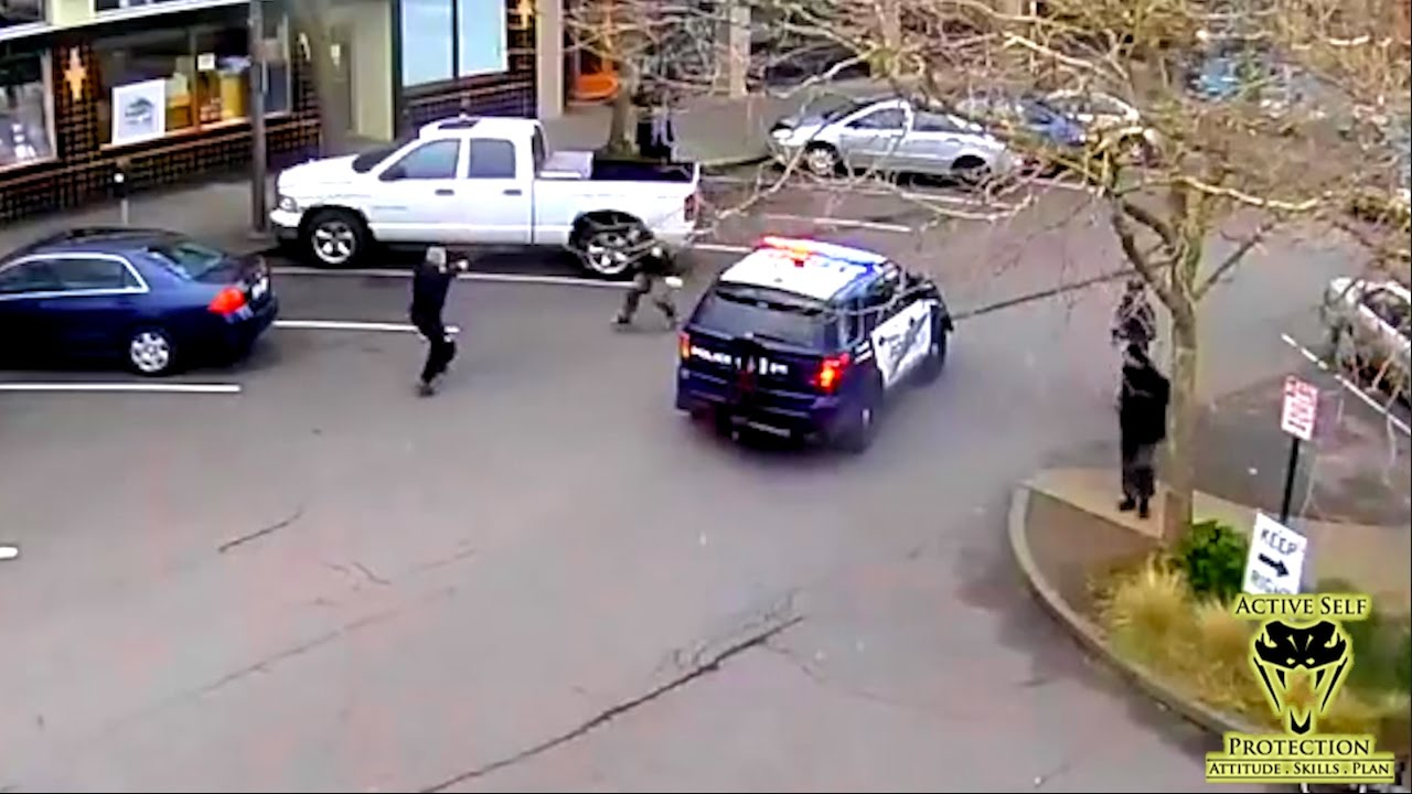 Fight Leads to Officer Involved Shooting Caught From Multiple Angles | Active Self Protection