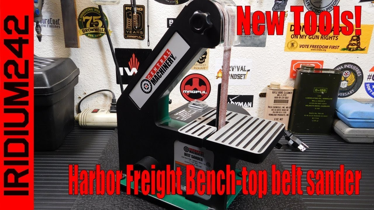Harbor Freight Bench Top Belt Sander