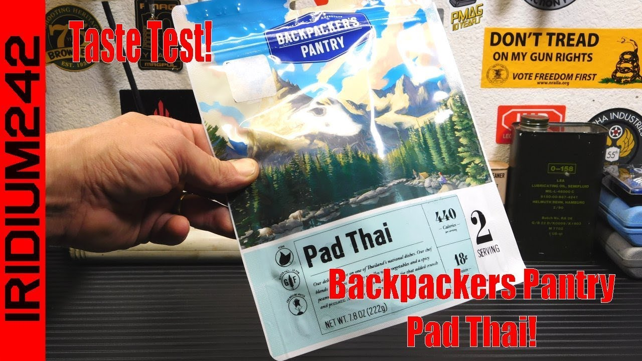 Prepping/Camp Food: Backpackers Pantry Pad Thai