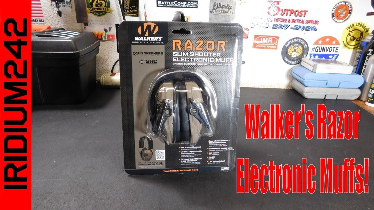 Walker's Razor Slim Electronic Hearing Protection