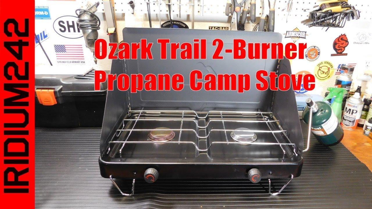 Ozark Trail 2 Burner Propane Camp Stove