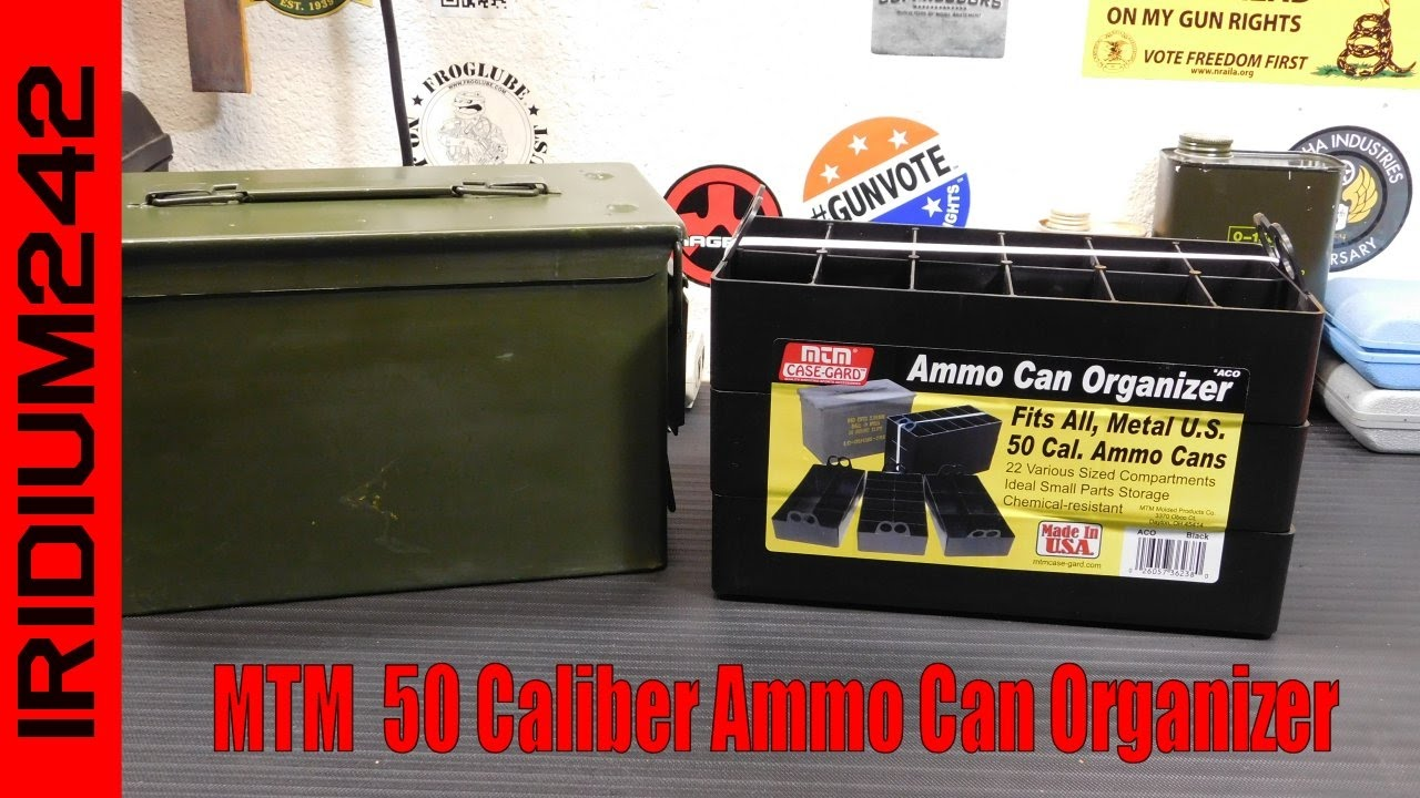 MTM 50 Caliber Ammo Can Organizer