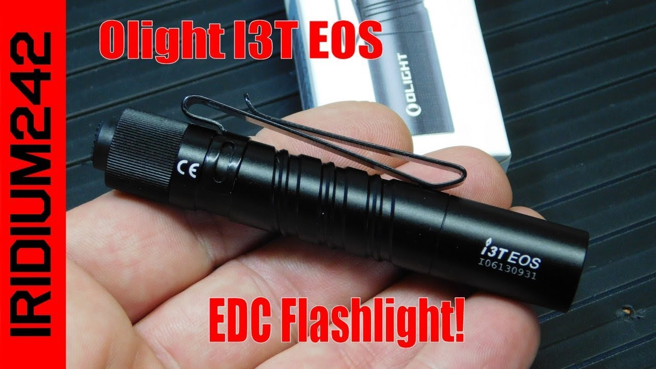 Olight I3T EOS: New From Olight! (180 lumen AAA Powered)