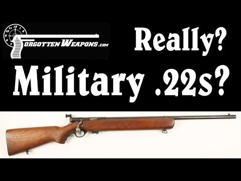 Why Does the Military Use .22 Rimfire Rifles for Training?