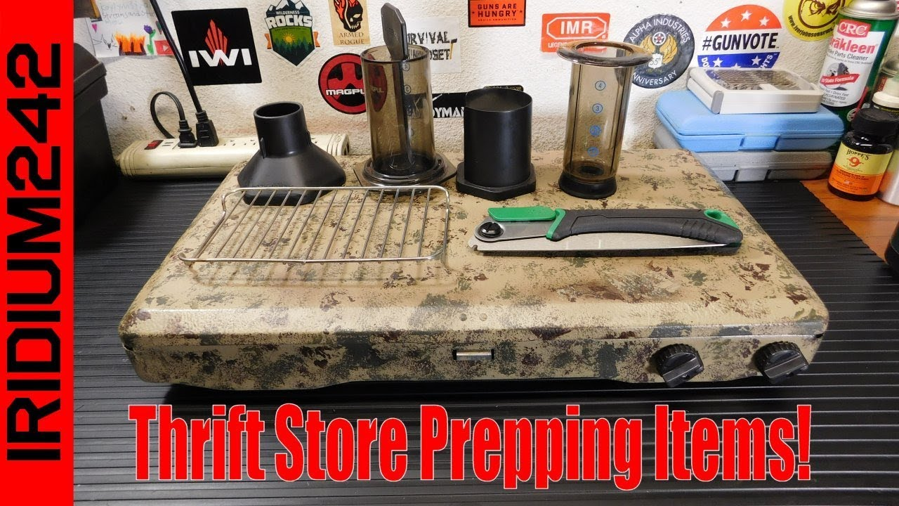 Prepping Items From Goodwill And Thrift Shops