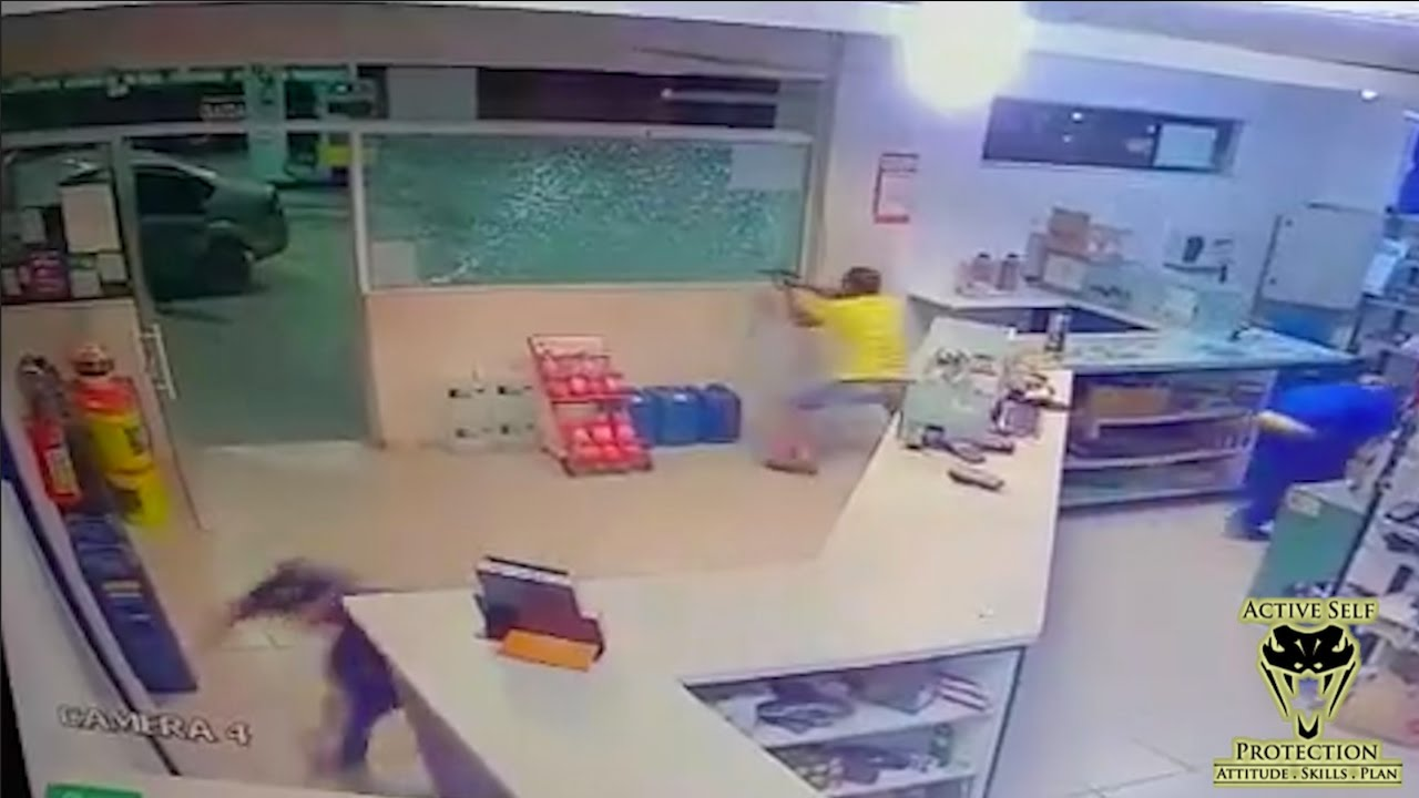 Armed Defender Makes Armed Robbers Pay | Active Self Protection