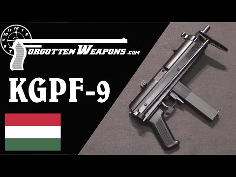 Hungarian KGPF-9: Kalashnikov Genetics in a 9mm SMG