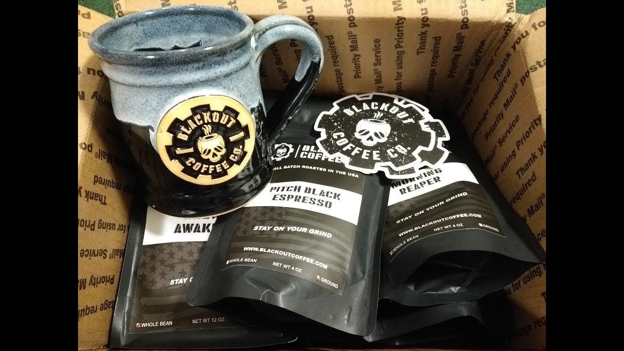 Blackout Coffee Company Morning Reaper and Pitch Black Espresso Taste Test Part 3