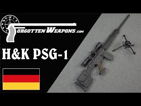 H&K PSG-1: The Ultimate German Sniper Rifle