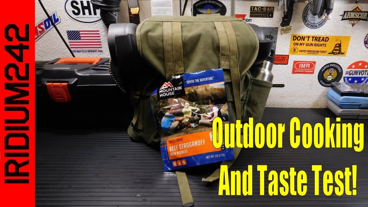 Outdoor Cooking And Taste Test Of A Mountain House Meal!
