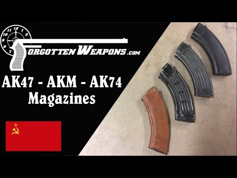 Slabs and Waffles and Bakes, Oh My! A History of Soviet AK Magazines