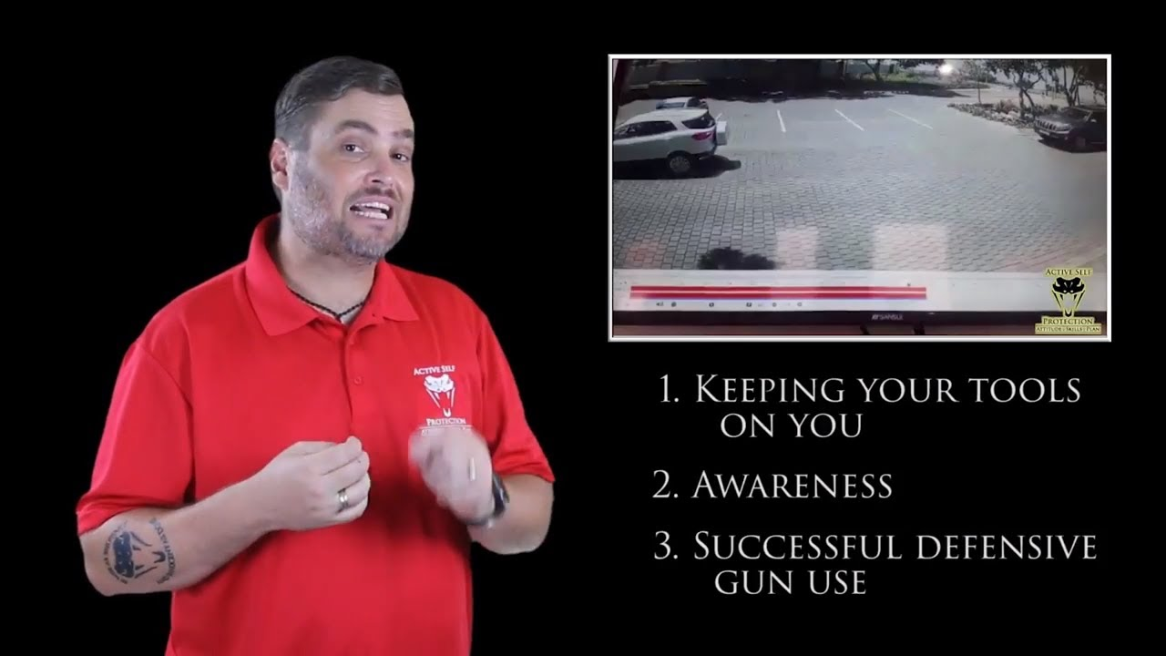 Attempted Carjacking Turns Into Robbers Running | Active Self Protection
