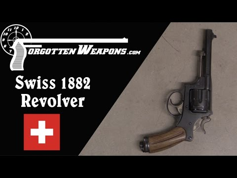 Swiss 1882 Ordnance Revolver (Shooting)