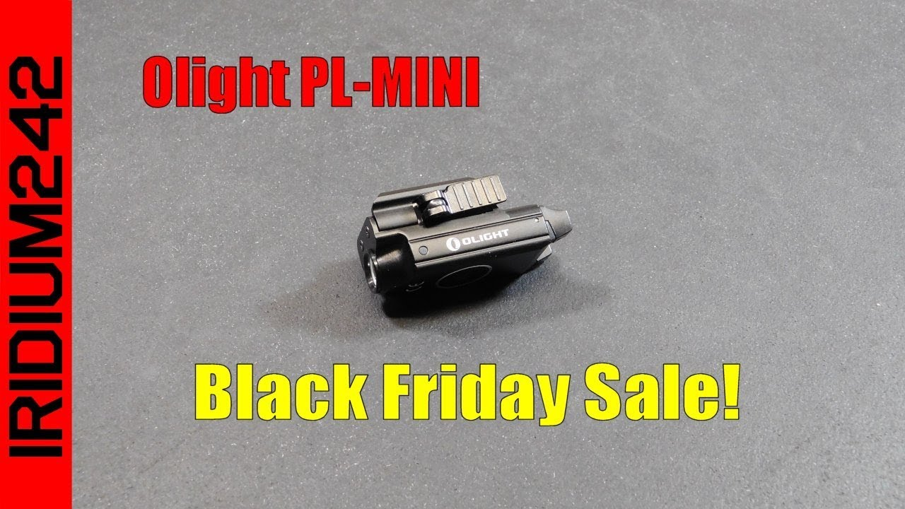 Olight PL MINI Black Friday Sale!
