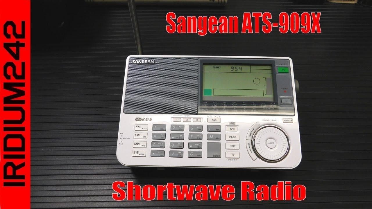Sangean ATS 909X Shortwave Radio