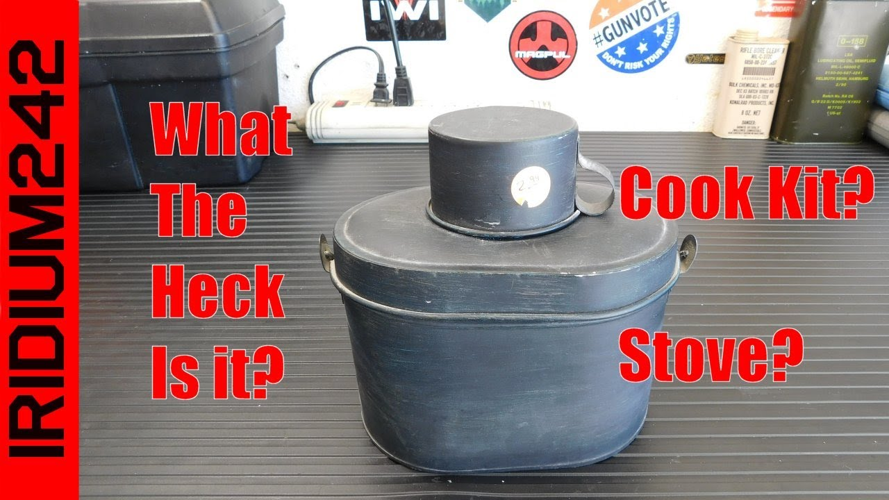 What Is it? Cook Kit? Stove?