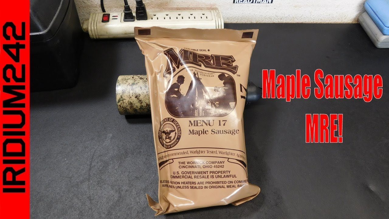 Menu 17: Maple Sausage MRE Taste Test!
