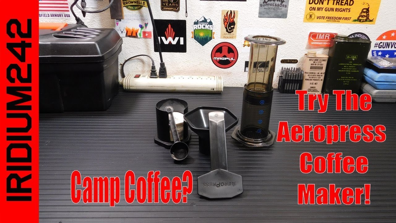 Aeropress Coffee Maker. Perfect For Camp Or Your Bug Out Bag!