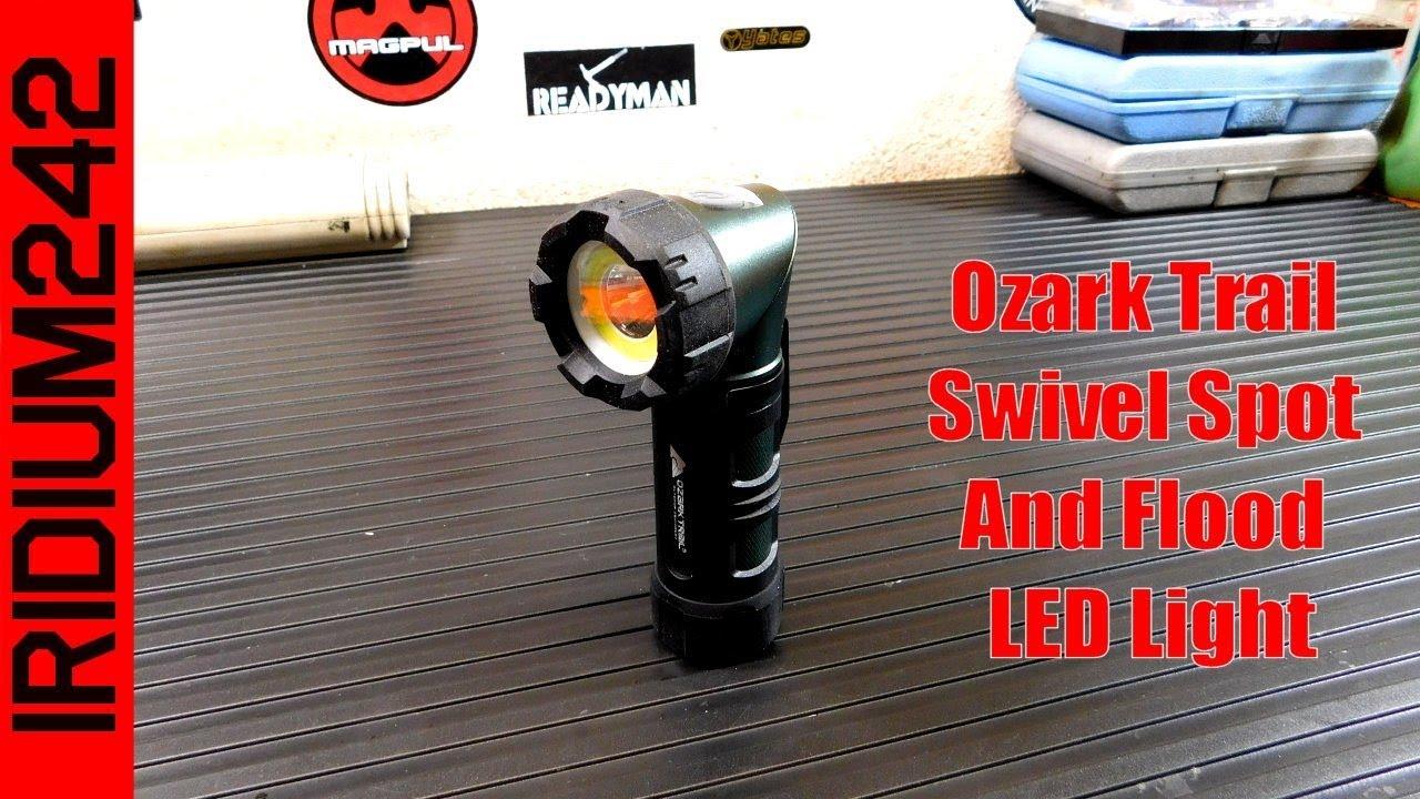 Ozark Trail Swivel Spot And Flood LED Light