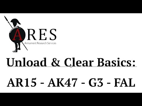 How to Safely Unload & Clear the Four Most Common Rifles