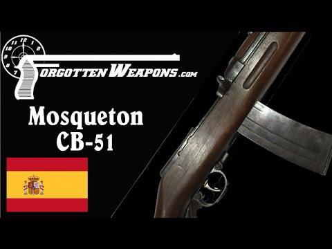 Spanish 8x33mm Mosqueton CB-51