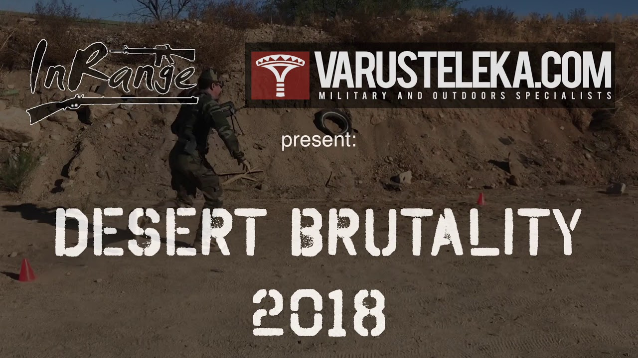 Announcing Desert Brutality 2018! Two days of 2-Gun Competition!
