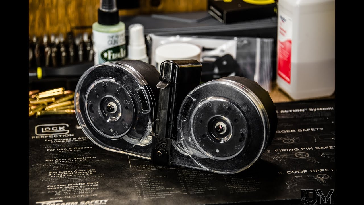 UNBOXING: KCI USA 100 AR-15 Drum Mag