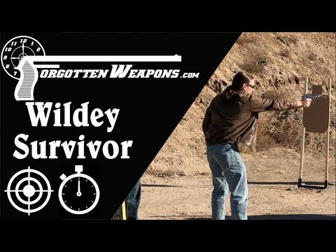 Wildey Survivor .45 WinMag: Perfect for a Backup Gun Match
