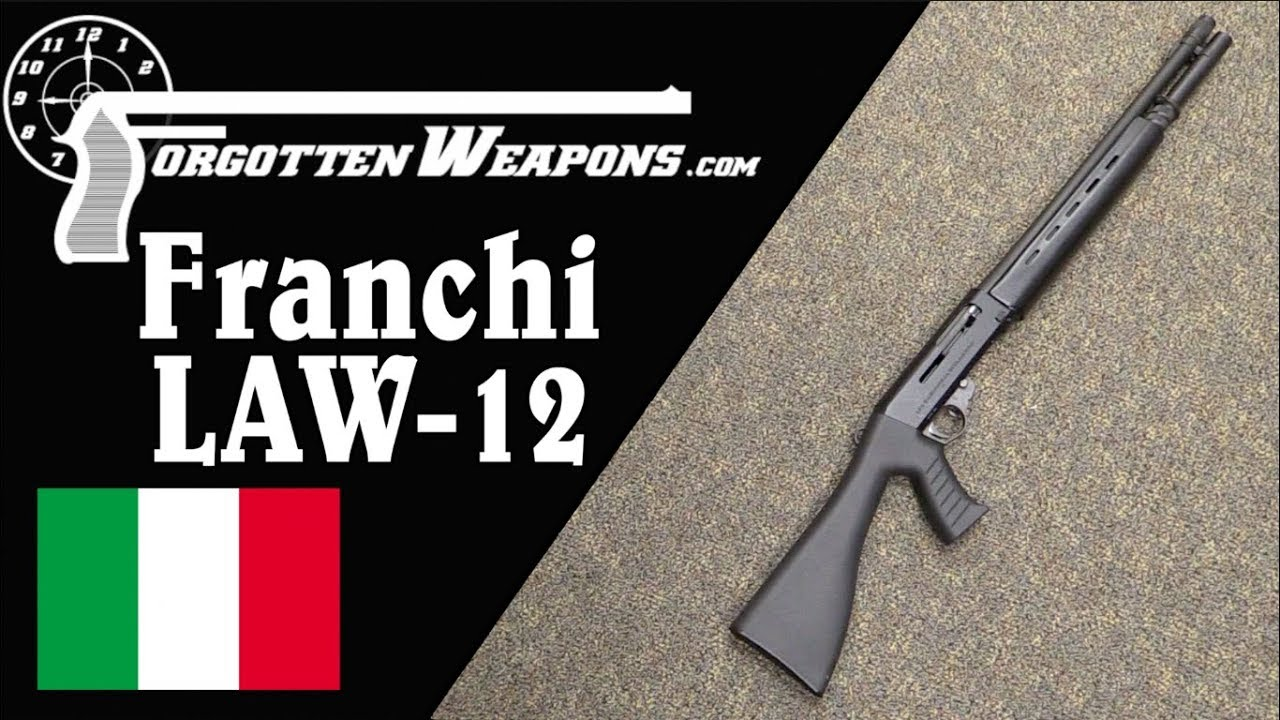 Franchi LAW12 - Like the SPAS-12, but Semiauto Only