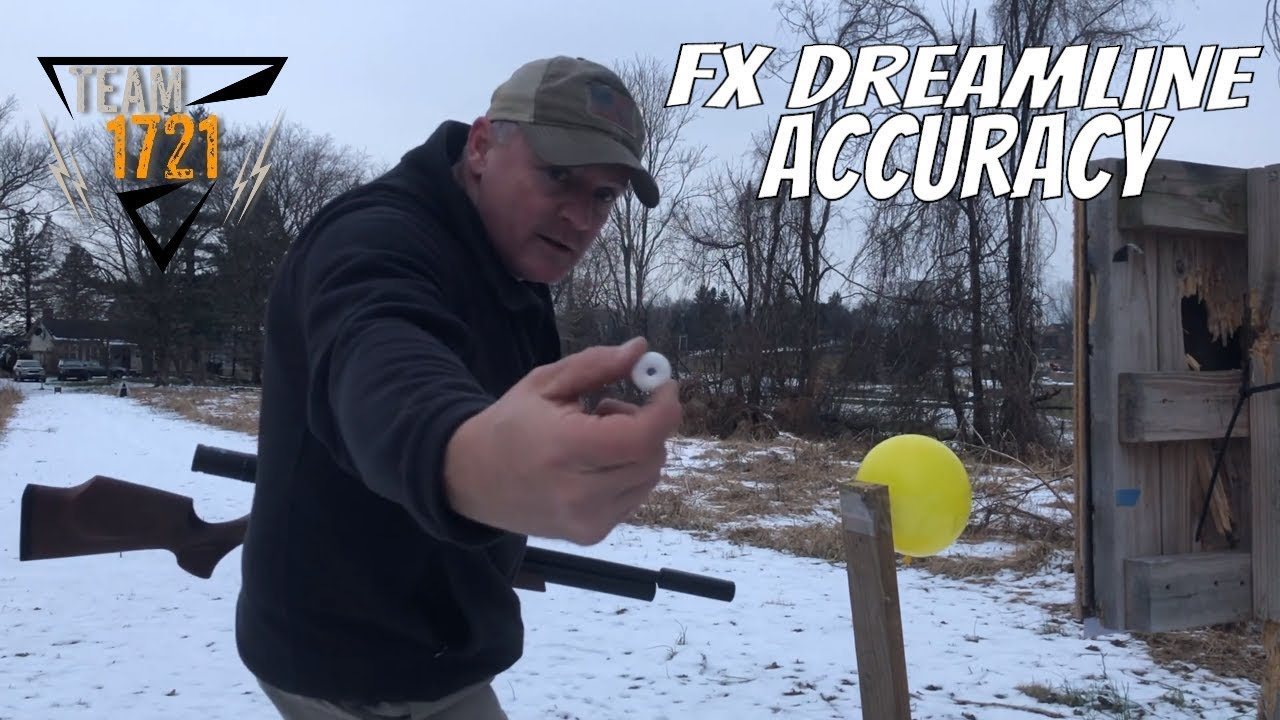 FX Dreamline 100 yard accuracy