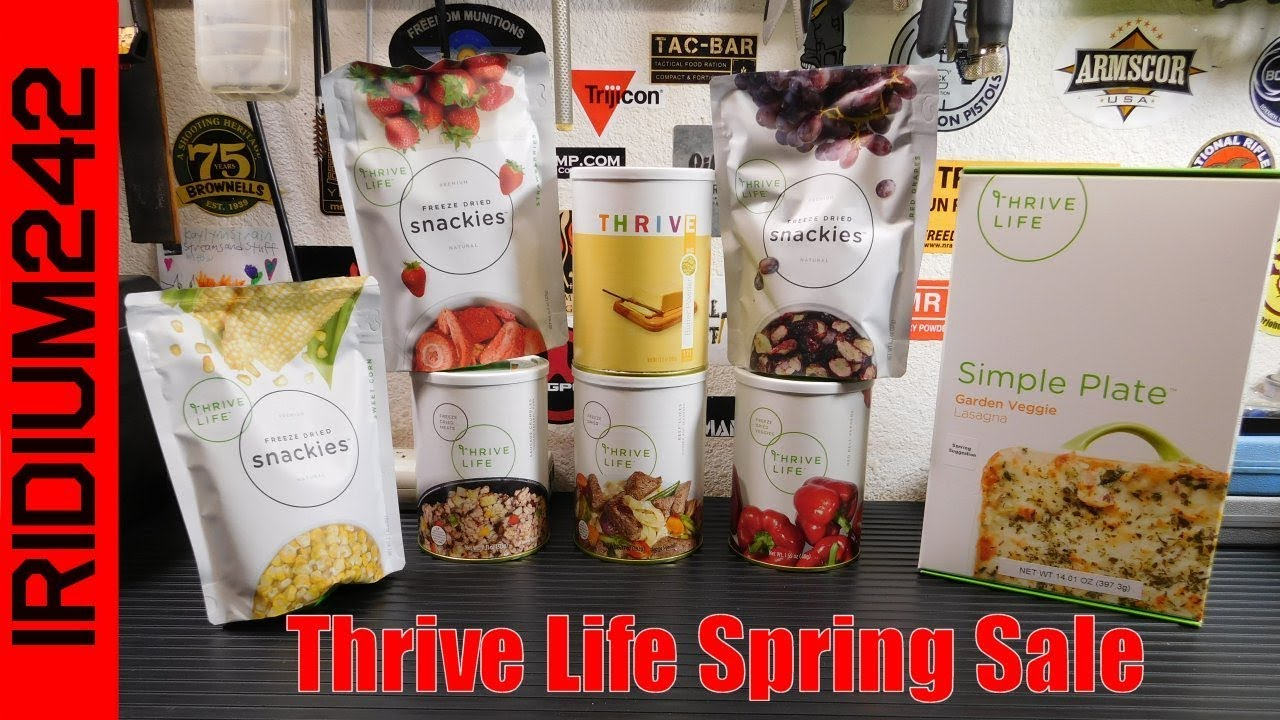 Thrive Life Spring Sale!